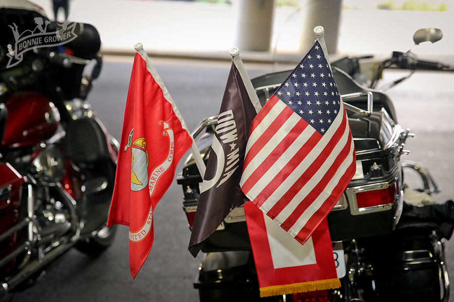 Rolling Thunder honoring those they served with and those who served before them