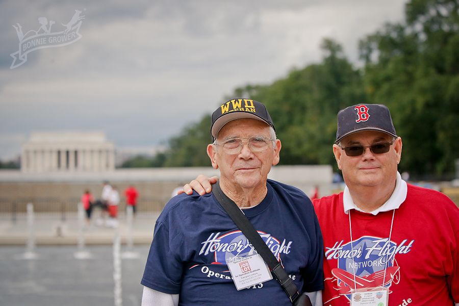 Honor Flight - MD::DC::NoVA Military Photographer