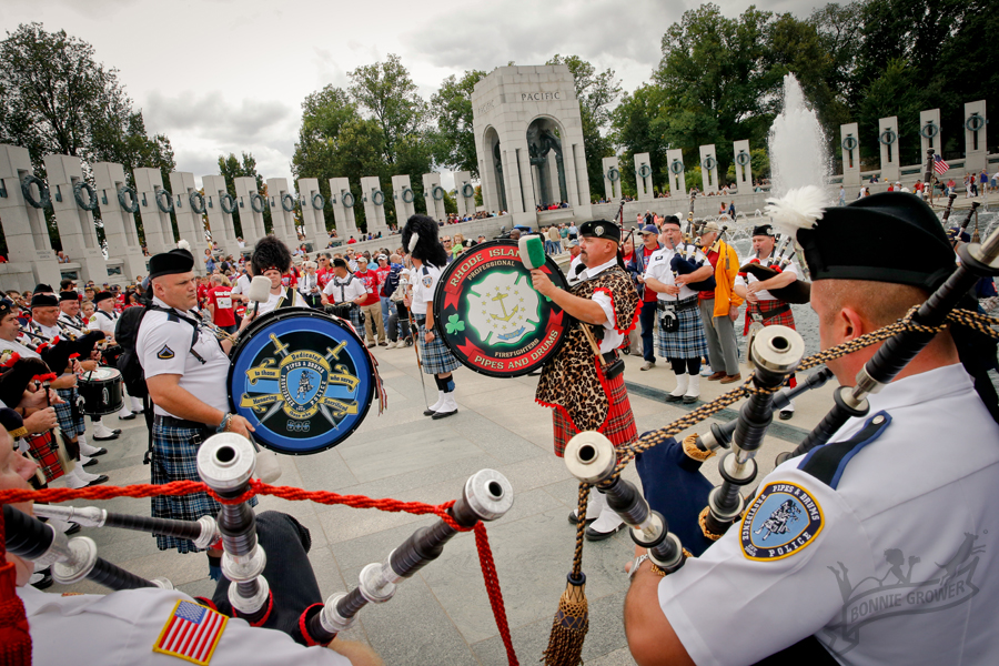 An amazing performance by the Rhode Island Fire and Police Pipes and Drum Corps